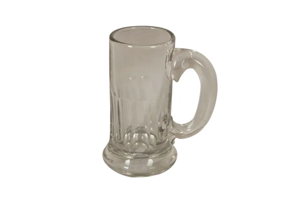 ANTIQUE FRENCH CIDER GLASS