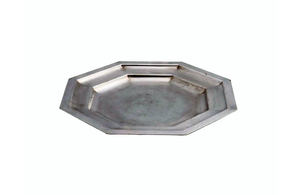 ART DECO SILVERPLATE COCKTAIL TRAY