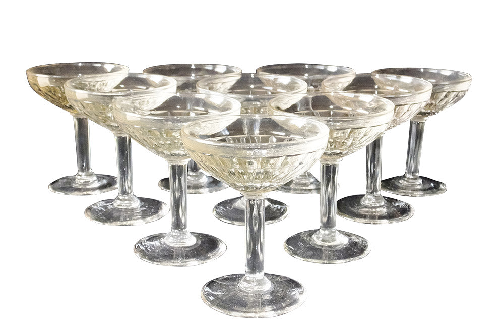 1940'S COCKTAIL GLASSES