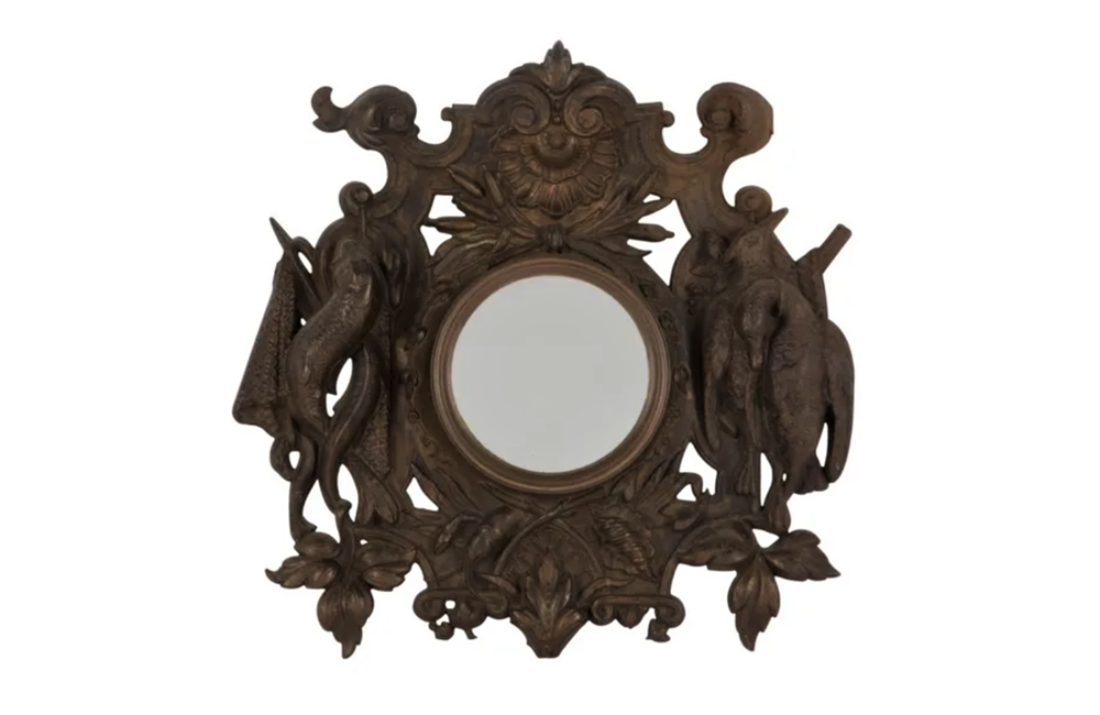 HUNTING AND FISHING THEMED MIRROR