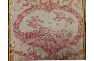 FRENCH TOILE DE NEPTUNE 19TH CENTURY SCREEN