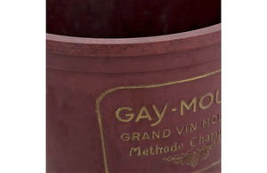 'GAY MOUSSE' BAKELITE CHAMPAGNE BUCKET