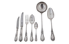 SIXTY-TWO PIECE CUTLERY SERVICE