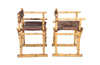 PAIR OF VINTAGE BAMBOO CHAIRS