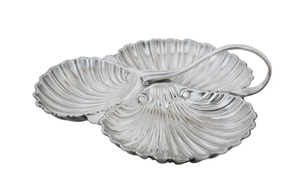 ENGLISH SILVERPLATE BONBON DISH