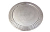 ROUND SILVERPLATE COCKTAIL TRAY
