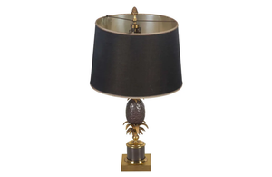 'MAISON CHARLES'  PINEAPPLE LAMP