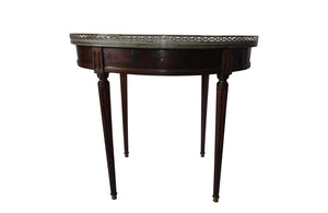 ELEGANT OVAL BOUILLOTTE TABLE