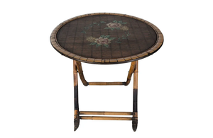 DECORATIVE BAMBOO TABLE