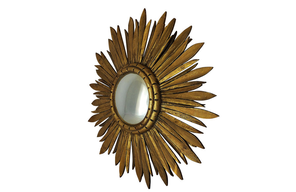 CONVEX SUNBURST MIRROR