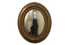 LOUIS PHILIPPE OVAL CONVEX MIRROR