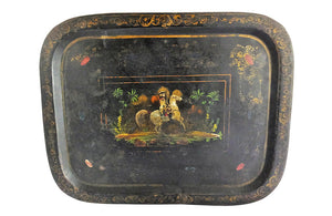 CHARMING 19TH CENTURY TOLE TRAY
