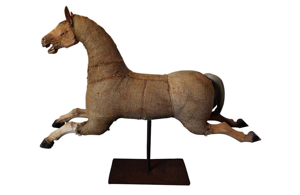 DECORATIVE ANTIQUE FRENCH HORSE