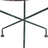French Folding Iron Table - French Garden Table - AD & PS ANTIQUES