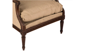 LOUIS XVI REVIVAL WING-BACK  BERGERE