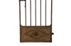 19TH CENTURY ARCHED IRON GATE