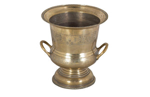 LARGE BRASS CHAMPAGNE BUCKET