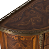 PAIR OF MARQUETRY SIDE TABLES