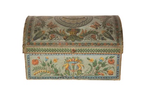 18TH CENTURY MARRIAGE COFFER