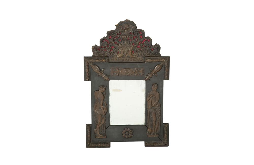 SMALL & RARE NEO-CLASSICAL REVIVAL MIRROR