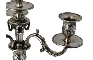 PAIR OF NEO-CLASSICAL REVIVAL CANDLEABRAS