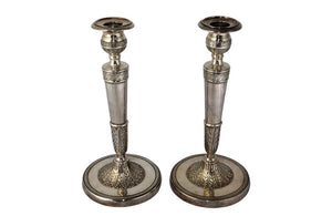 NEO-CLASSICAL REVIVAL CANDLESTICKS