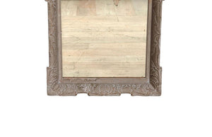 LARGE 1930'S CARVED FRAME MIRROR
