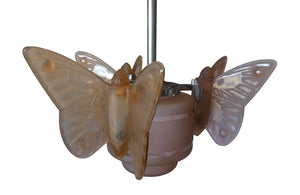 ART DECO BUTTERFLY LIGHT