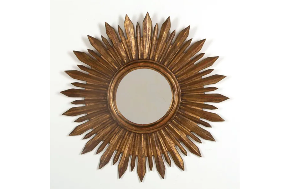 LARGE SUNBURST MIRROR