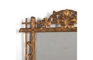 CARVED 'GRAPEVINE' MIRROR