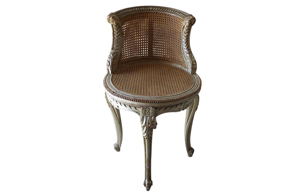 LOUIS XVI REVIVAL MUSIC CHAIR