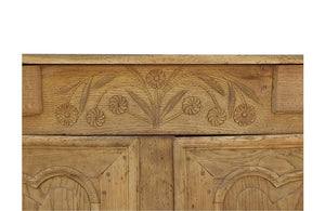 Loire Valley Oak Buffet - Decorative French Antiques - AD & PS Antiques