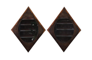 PAIR OF DECORATIVE MIRRORS