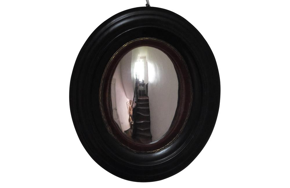 OVAL CONVEX MIRROR