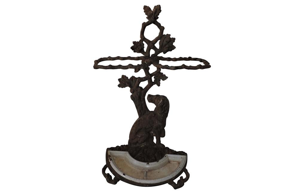 IRON DOG UMBRELLA  STAND