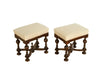 PAIR OF 19TH CENTURY ITALIAN STOOLS