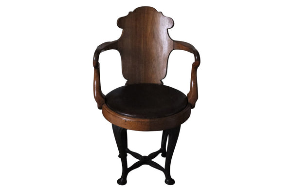 ENGLISH SHIP'S DESK CHAIR
