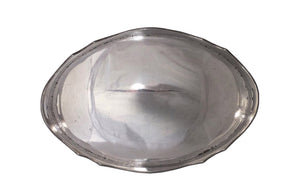 ELEGANT SILVERPLATE OVAL TRAY