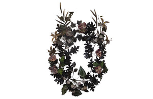 19TH CENTURY TOLE WREATH