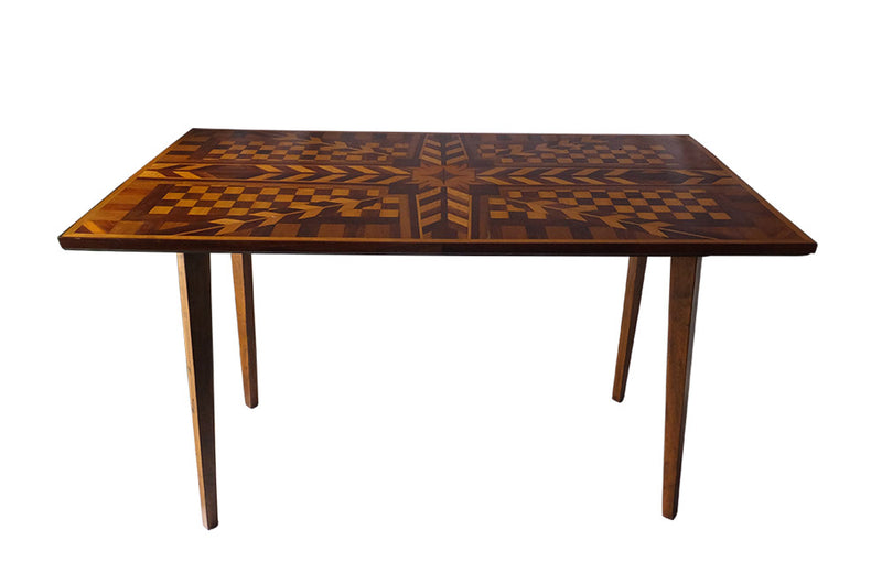 UNIQUE MARQUETRY TABLE