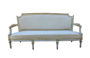 LOUIS XVI REVIVAL CANAPE