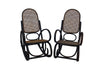 PAIR OF BENTWOOD ROCKING CHAIRS
