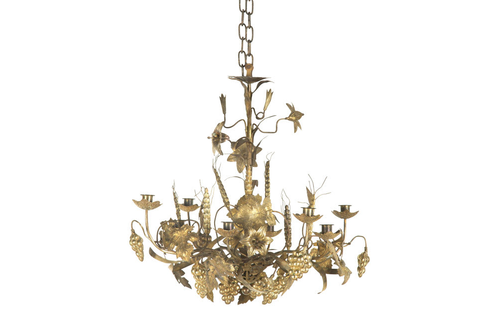 DECORATIVE 'HARVEST' CHANDELIER