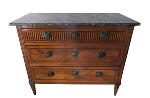 18TH CENTURY MARQUETRY COMMODE
