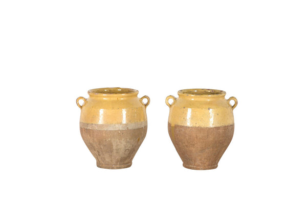 PAIR OF CONFIT POTS