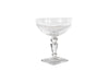 SET OF 12 BOHEMIA CRYSTAL CHAMPAGNE COUPES