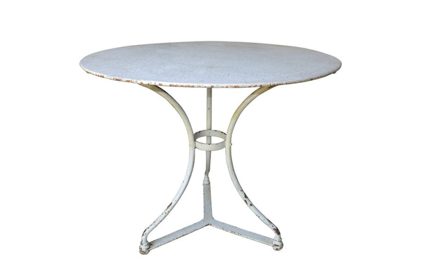 FRENCH IRON GARDEN TABLE