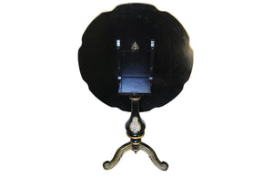 DECORATIVE ITALIAN TILT-TOP TABLE
