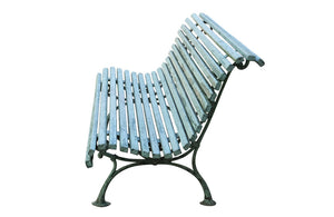 LARGE FRENCH GARDEN BENCH