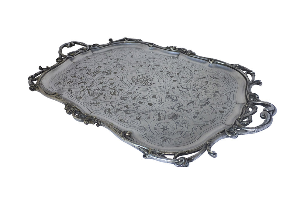 RARE 19TH CENTURY CHRISTOFLE TRAY